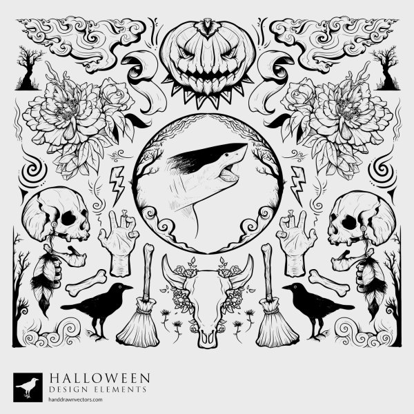 Halloween-Collection-Vector