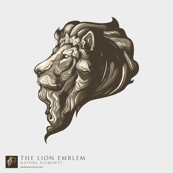 Lion-Head-Logo-Vector