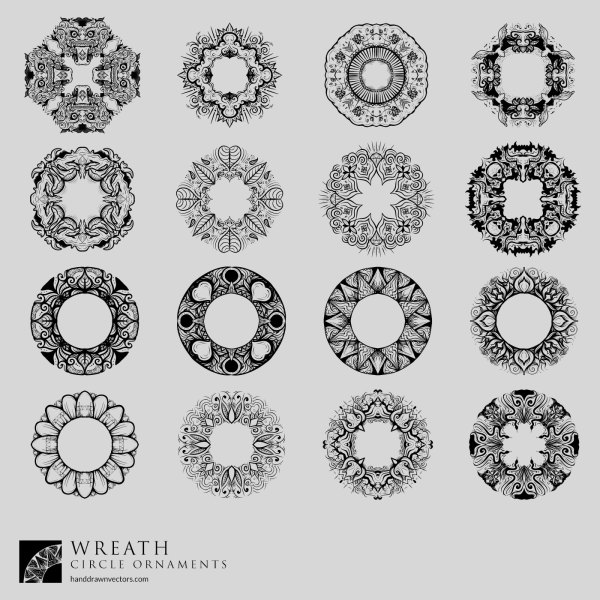 Wreathes-Collection-Vector