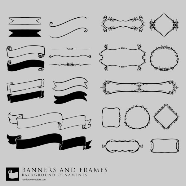 Banners-Frames-Collection-Vector