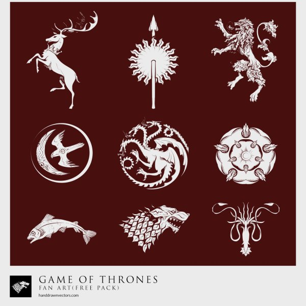 Game-of-Thrones-Sigil-Vector