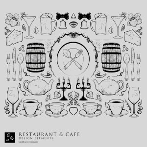 restaurant Collection Vectors