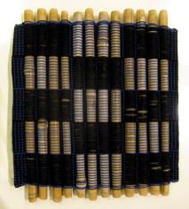 Underlägg av bambupinnar