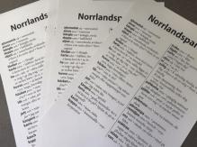 Norrlandssparlören som affisch
