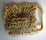 Tvättlapp i sisal för naturlig peeling