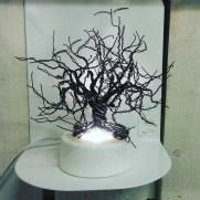 Träd av järntråd