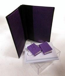 Bokörhängen och mapp