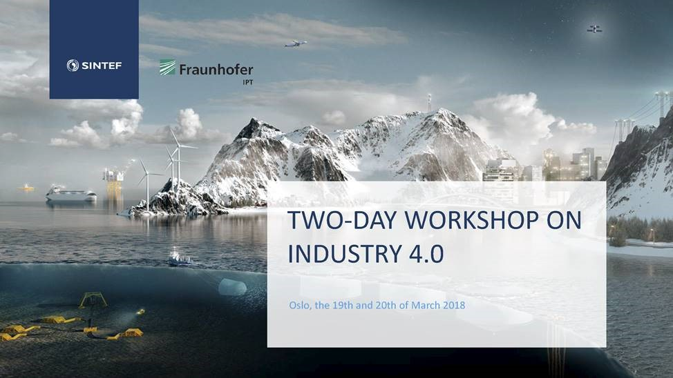 Todagers arbeidsseminar i Oslo om Industri 4.0