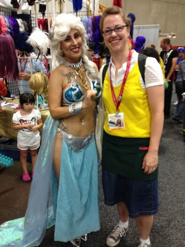 Slave Elsa and Penny