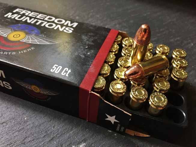 Freedom Munitions 9mm Review (ProMatch and 124 grain New Production