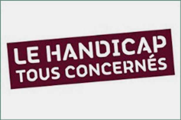 logo du ministère de l'Education Nationale : Le handicap tous concernés