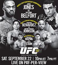 UFC 152 Redemption