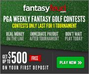 Daily Fantasy Golf at Fantasy Feud