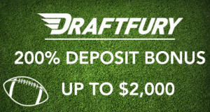 $2K NFL Kickoff promotion at DraftFury