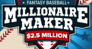 DraftKings DFS: MLB Millionaire Maker for Tuesday Night!!! 13