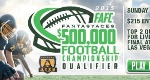 Fantasy Aces $500K Fantasy Football Championship