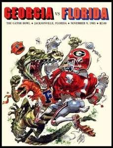 UGA Vs Florida SEC Football