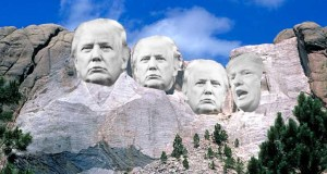 Donald Trump Mt. Rushmmore