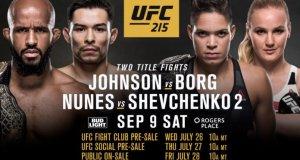 UFC 215 Rogers Place