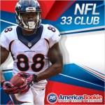 NFL 33 Club at Americas Bookie