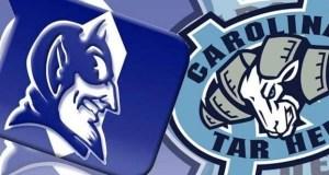 Duke Blue Devils versus UNC