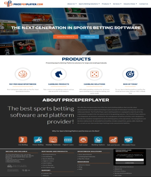 PricePerPlayer.com Sportsbook Pay Per Head Review 1