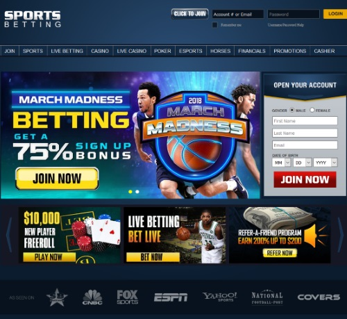 SportsBetting.ag Sportsbook Review 1