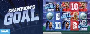 Champions Goal Slot Machine