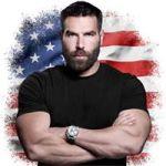 Dan Bilzerian American Flag