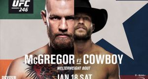 UFC 246 McGregor vs Cerrone