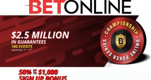 BetOnline $2.5 Poker Tournament Series