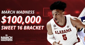 BetOnline $100,000 Sweet 16 Bracket Contest