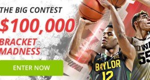 $100,000 Bracket Madness Contest at BetOnline