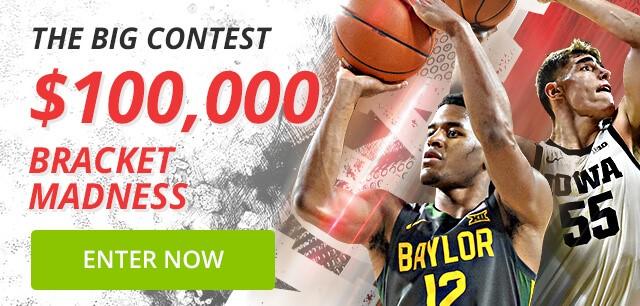 $100,000 Bracket Madness Contest at BetOnline