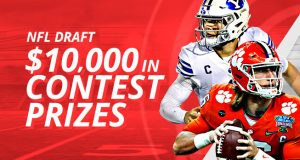 $10,000 in NFL Draft Contests at BetOnline
