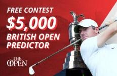 $5,000 British Open Predictor Contest