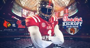 2021 Chick-Fil-A Kickoff Game is Ole Miss-Louisville
