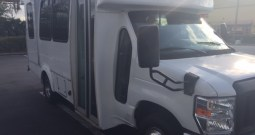 2010 Ford E350 Side Entry Wheelchair Full Size Van