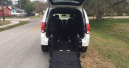 2017 Dodge Grand Caravan Rear Entry Wheelchair Van