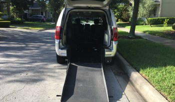 2010 Dodge Grand Caravan Rear Entry Wheelchair Van