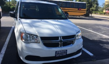 2016 Dodge Grand Caravan Rear Entry Wheelchair Van full