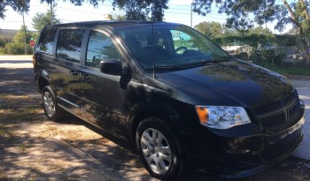 2015 Dodge Grand Caravan Rear Entry Wheelchair Van full