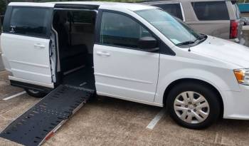 2019 Dodge Grand Caravan SXT Side Entry Wheelchair Accessible Van with New Conversion