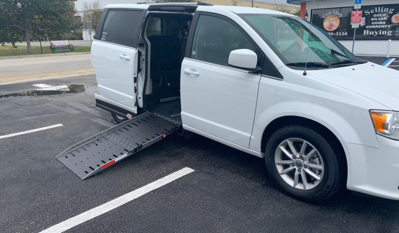 2019 Dodge Grand Caravan SXT Side Entry Wheelchair Accessible Van with New Conversion full