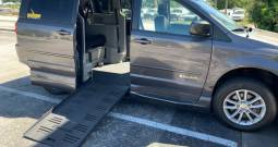 2016 Dodge Grand Caravan Side Entry Wheelchair Van with Dual Locking for Wheelchairs