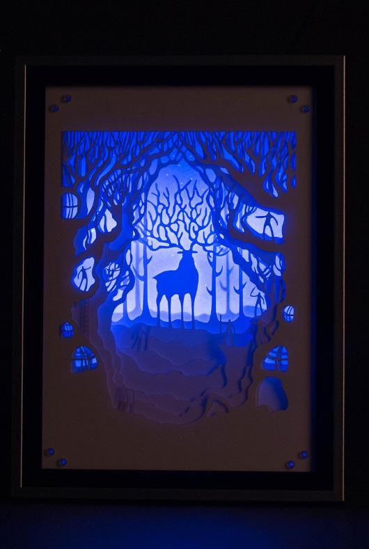 deers print,deers sculpture,deers in art,deers card,deer art,deep shadow box,custom shadow box,how to make shadow boxes,,24x30 shadow box,shadow box ideas,military shadow box,shadow box shelf,studio decor shadow box 11x14,display box frame light box