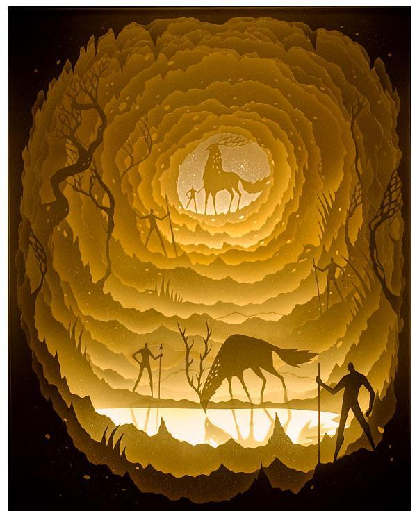 how to make paper deer,pakhet,flidais,hunter of myth,goddess of the harvest,silhouette svg,fantasy forest art,diy paper crafts for school,diy paper crafts for birthday,dark forest art,paper crafts for adults,tree branch painting,diy projects paper