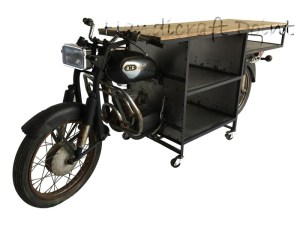 Motorbike Console Cabinet
