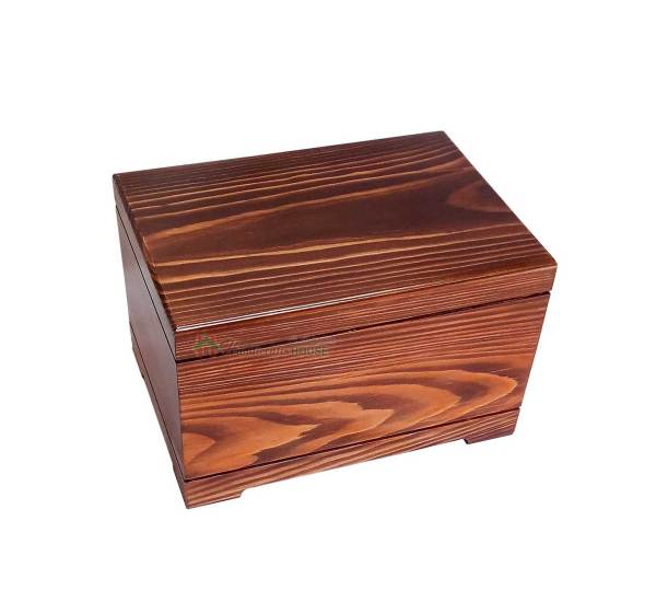 Wooden burial Urns For Human, Wood Casket, Home Decor Urn, Timber Box, Funeral Ashes Container