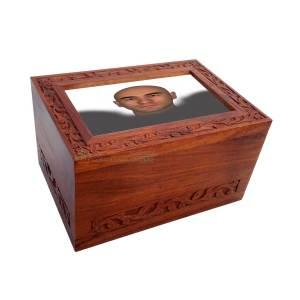 Wooden Urn